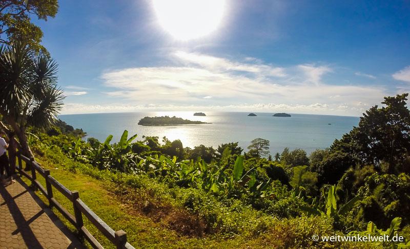 Aussichtspunkt in Thailand