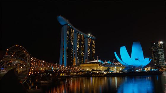Gebäude in Singapur