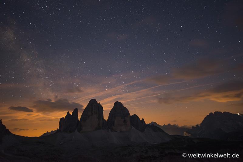 Berge und Sterne