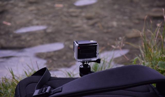 GoPro bei einer Timelapse Aufnahme